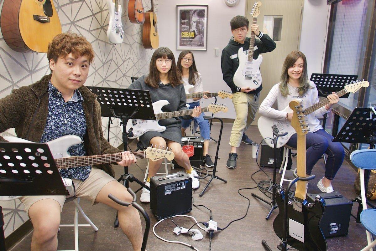 木吉他團體課程簡介